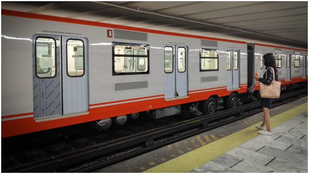 Imagen: Una persona muere tras arrojarse a las vías del Metro Boulevard Puerto Aéreo, 15 de febrero de 2020 (ANDREA MURCIA /CUARTOSCURO.COM)