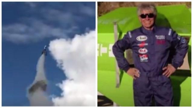 Foto: Michael Hughes murió por querer mostrar que la Tierra tiene forma de disco volador, 23 de febrero de 2020 (Redes Sociales)