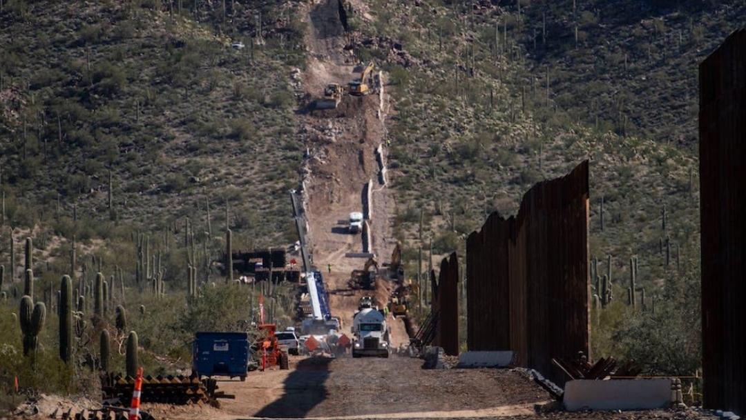 FOTO Destruyen cementerios sagrados de nativos americanos por muro en Arizona (Twitter)