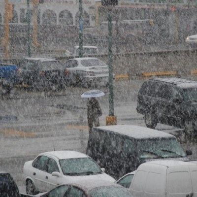 Fotos: Intensa nevada sorprende a habitantes de Chihuahua