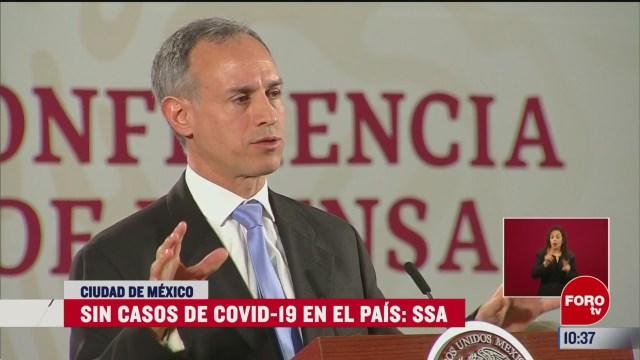 no hay casos de coronavirus en mexico dice la secretaria de salud