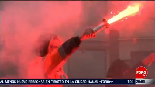 Foto: Nuevas Manifestaciones Contra Reforma Pensiones Francia 20 Febrero 2020