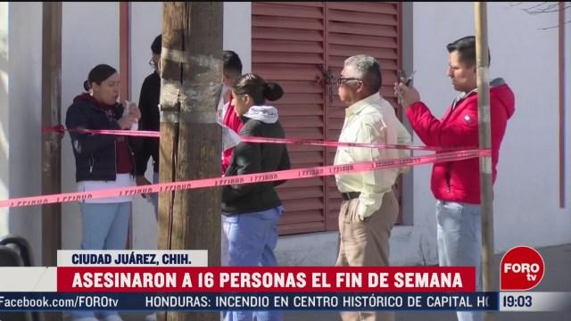 Foto: Chihuahua Violencia Deja 16 Muertos Últimas Horas17 Febrero 2020