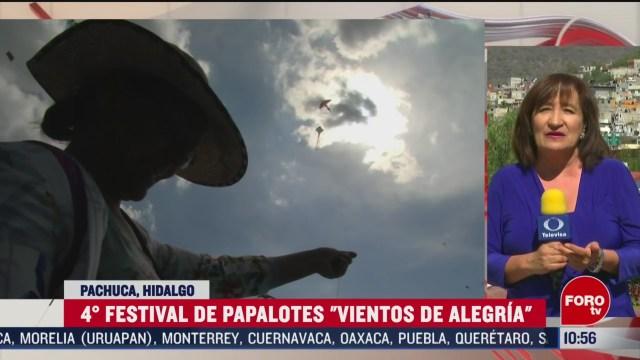 FOTO: 16 Febrero 2020, pachuca realiza la cuarta edicion del festival de papalotes vientos de alegria