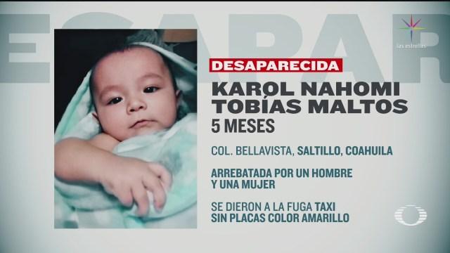 Foto: Pareja Arrebata Brazos Madre Bebé 5 Meses Saltillo 18 Febrero 2020