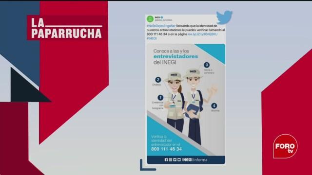 Foto: Censo 2020 Encuestadores Noticias Falsas 28 Febrero 2020