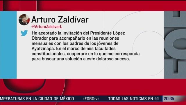 Foto: Presidente Scjn Arturo Zaldívar Reunión Padres Normalistas 11 Febrero 2020