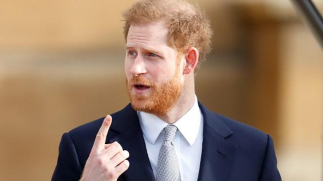 Fotografía del príncipe Harry, 22 febrero 2020