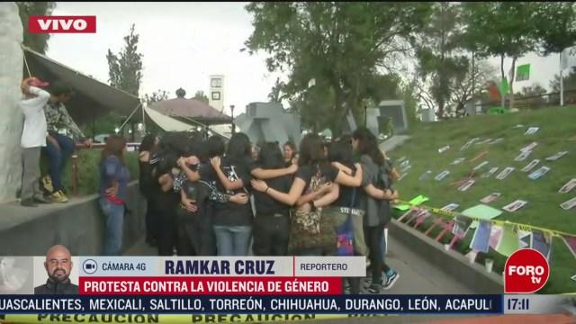FOTO: protestan contra la violencia de genero en ecatepec