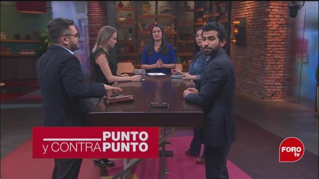 Foto: Punto Contrapunto Genaro Lozano Programa Completo 19 febrero 2020