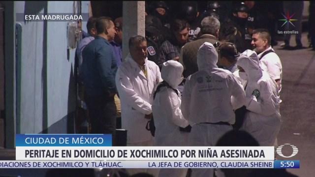 realizan investigaciones en casa de xochimilco para esclarecer caso fatima
