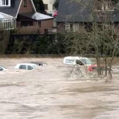 Foto: Al menos mil 600 hogares en Londres se han visto afectados por los cortes de energía y gran parte de Gales sufren inundaciones