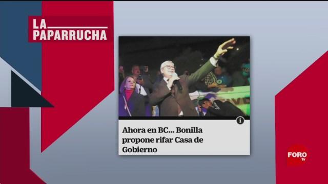 Foto: Rifa Casa Gobierno Baja California Noticias Falsas 11 Febrero 2020