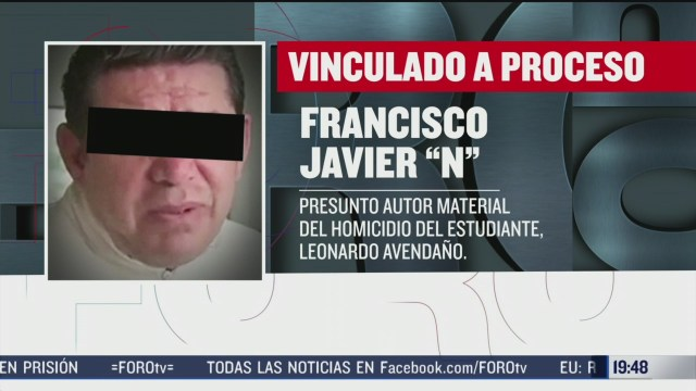Foto: Leonardo Avendaño Caso Aplazan Audiencia 26 Febrero 2020