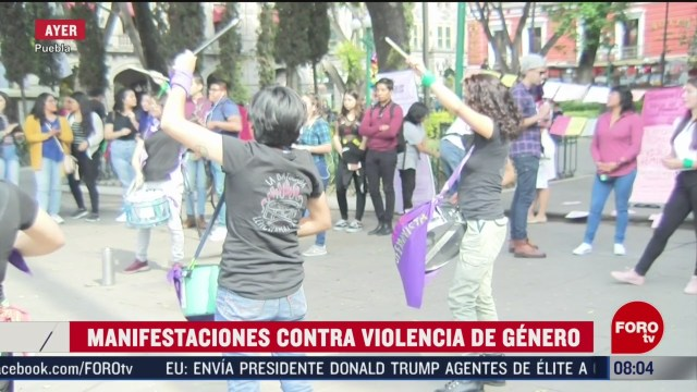 FOTO: 15 Febrero 2020, se manifiestan mujeres contra la violencia de genero