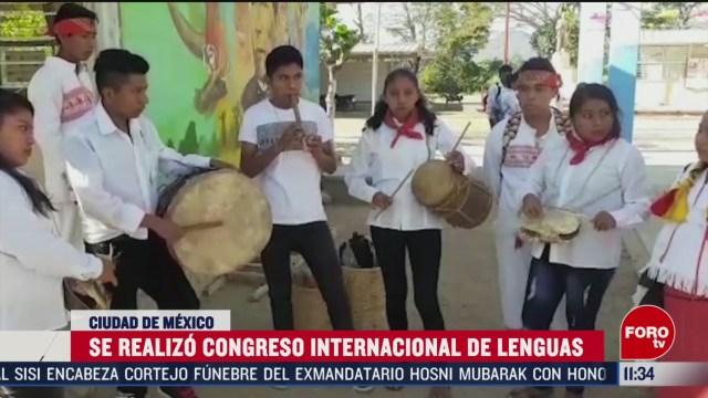 se realizo congreso internacional de lenguas en cdmx
