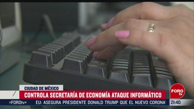 Foto: Secretaría Economía Sufre Ataque Cibernético 24 Febrero 2020