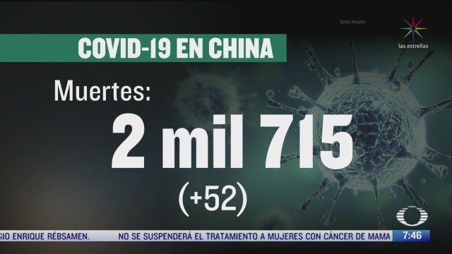 sigue en descenso la propagacion del coronavirus en china