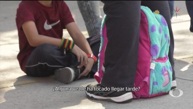 Foto: Protocolos Seguridad Salida Planteles Escolares Sin Aplicar 19 Febrero 2020