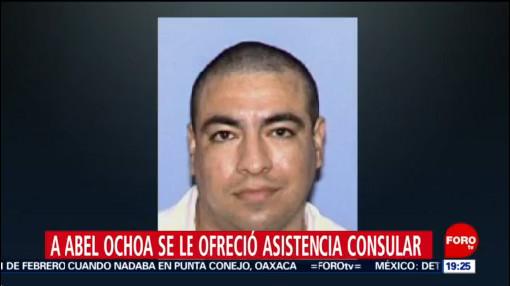 Foto: Sre Ejecución Mexicano Abel Revill Ochoa Texas 6 Febrero 2020