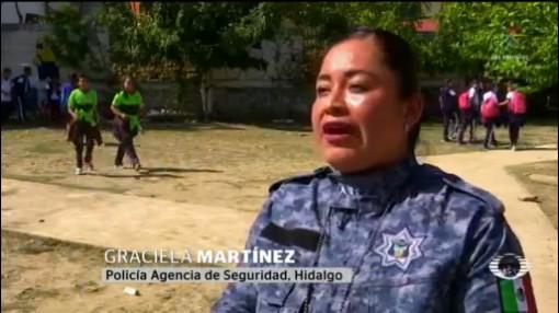Foto: Ssp Hidalgo Cursos Prevención Delito Náhuatl 6 Febrero 2020