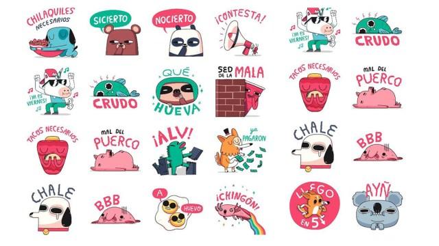 Stickers México WhatsApp