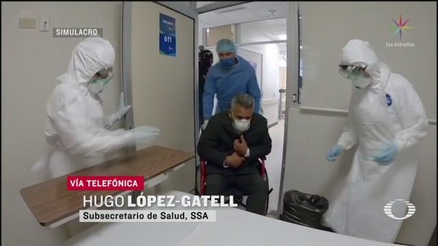 Foto: Caso Coronavirus México Subsecretario Salud Informa Sobre 27 Febrero 2020