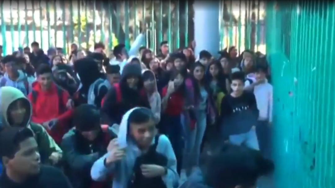 FOTO: Suspenden clases en Bachilleres 6, el 18 de febrero de 2020