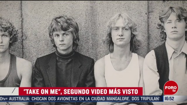 FOTO: take on me video que rompe record en youtube