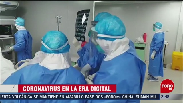 Foto: Coronavirus Era Digital Ayuda Medidias Sanitarias 13 Febrero 2020