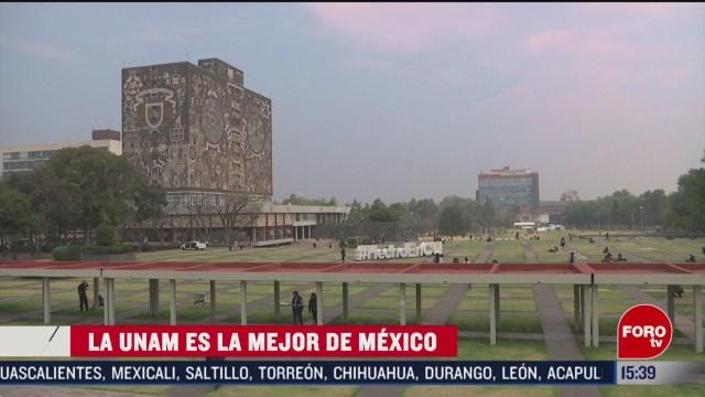 FOTO: unam se corona como la mejor de mexico