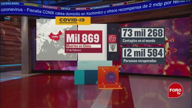 Foto: Coronavirus China 1800 Muertos Hoy 17 Febrero 17 Febrero 2020