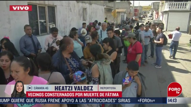 FOTO: vecinos apoyan con despensa y dinero a familia de fatima