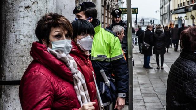 Foto: Cancelan el carnaval de Venecia por epidemia de coronavirus, 23 febrero 2020