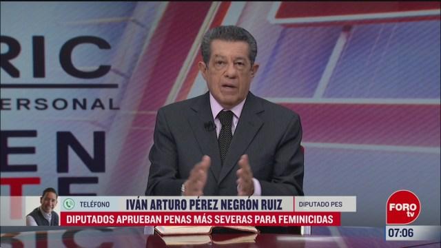 video entrevista completa con el diputado ivan arturo perez negron en estrictamente personal