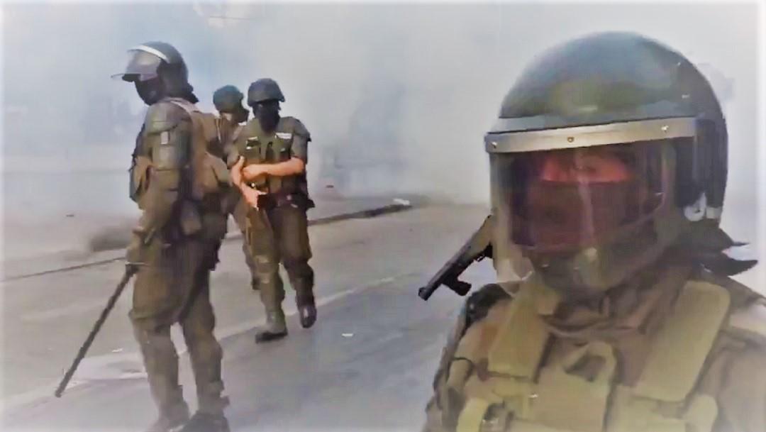 Chile: Protesta en Viña del Mar deja numerosos detenidos y heridos por gas pimienta
