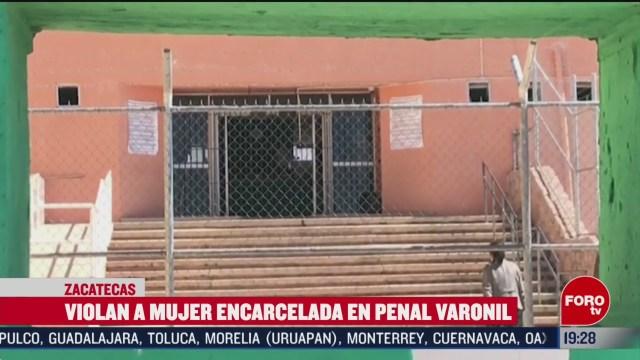 Foto: Violación Mujer Encarcelada Penal Varonil Zacatecas 13 Febrero 2020