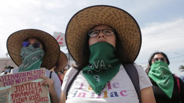 Foto: Así se vive la marcha del Día Internacional de la Mujer en CDMX, 08 de marzo de 2020, (Reuters)