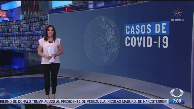 Aumentan casos de coronavirus en el mundo