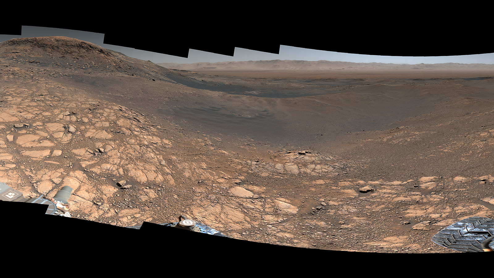 Foto: Curiosity captura imagen de Marte con 1800 millones de píxeles, 4 de marzo de 2020, (NASA)