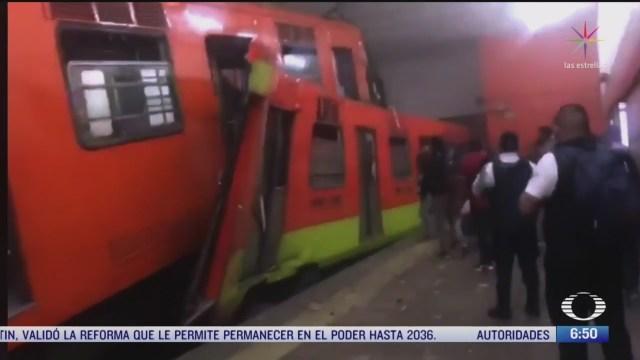 accidente en el metro tacubaya pudo ser por problema electrico