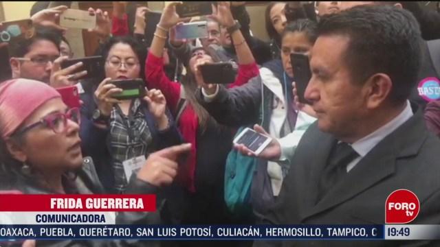 Foto: Activista Frida Guerrera Confronta Marco Olvera Difamación 4 Marzo 2020