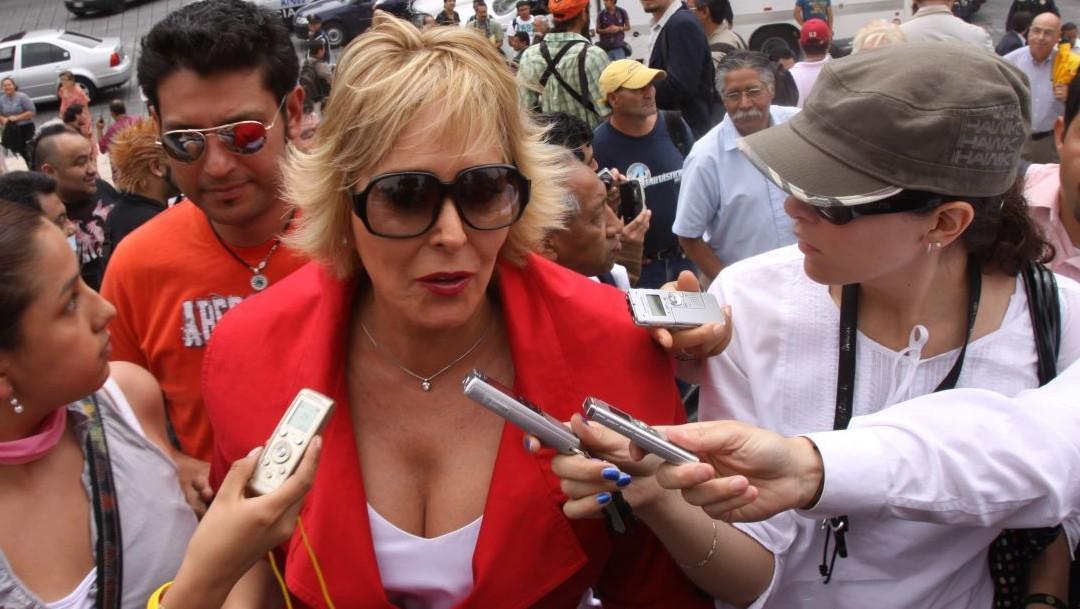 Margarita Gralia y su esposo son internados por COVID-19