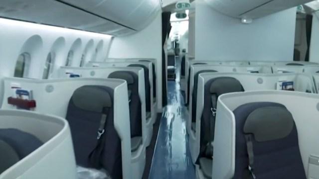 Aerolíneas garantizan aire libre de bacterias y virus