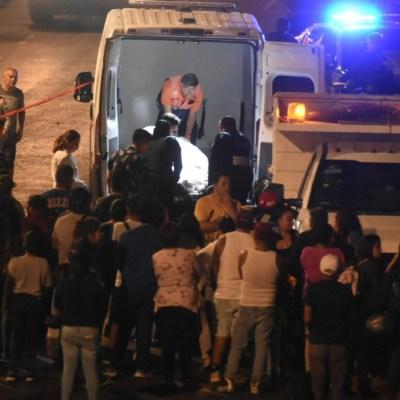 FOTO: Detienen a nueve por pelea y supuesto robo en Coyoacán, CDMX, el 29 de marzo de 2020