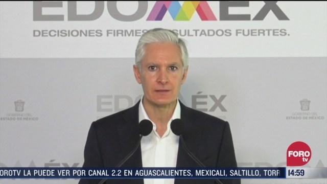 FOTO: alfredo del mazo anuncia medidas de apoyo economico por coronavirus en estado de mexico