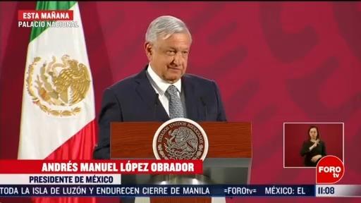 FOTO: 16 marzo 2020, amlo considera que estimulos de la fed favorecen a mexico