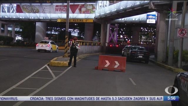 asesinan a hombre cerca de la terminal 1 del aeropuerto de cdmx