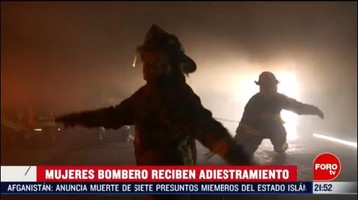 Foto: Bomberas Cdmx Así Es El Entrenamiento 5 Marzo 2020