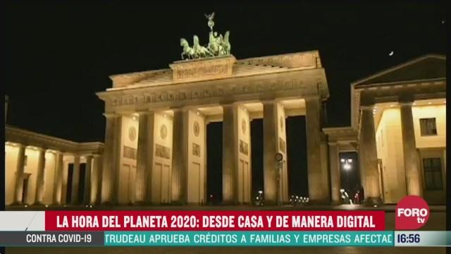 FOTO: 28 marzo 2020, asi se vivio la hora del planeta 2020 en mexico y el mundo